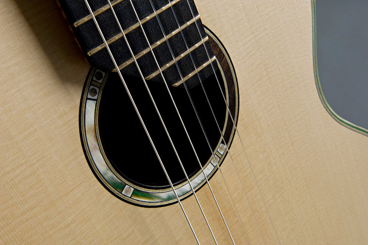 A SERIES Fenland Black Oak Classical Guitar