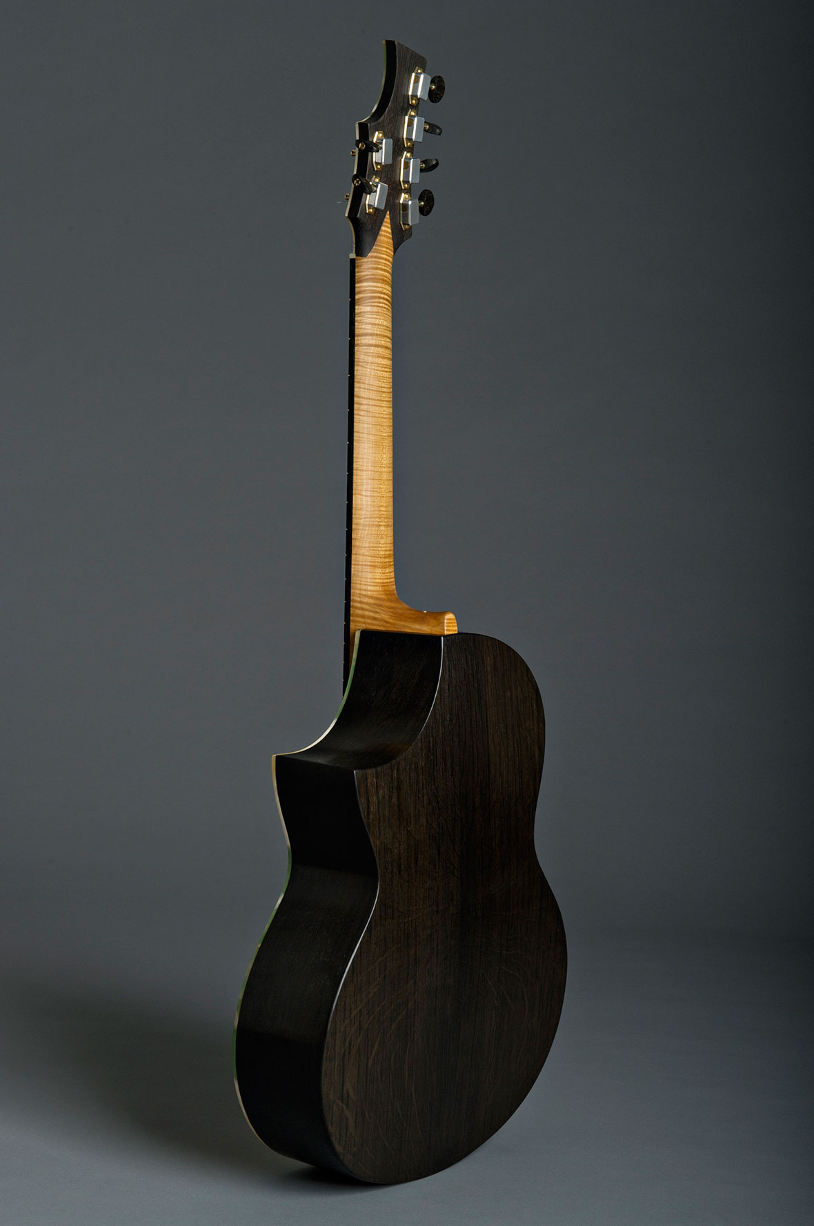 A Series Fenland Black Oak Guitar (Steel String)