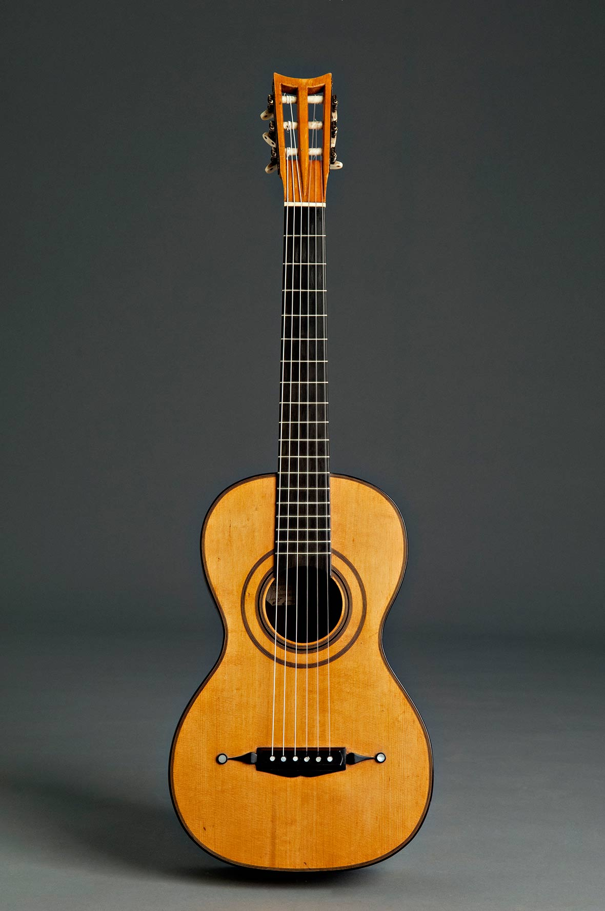 Panormo guitar (historical copy)