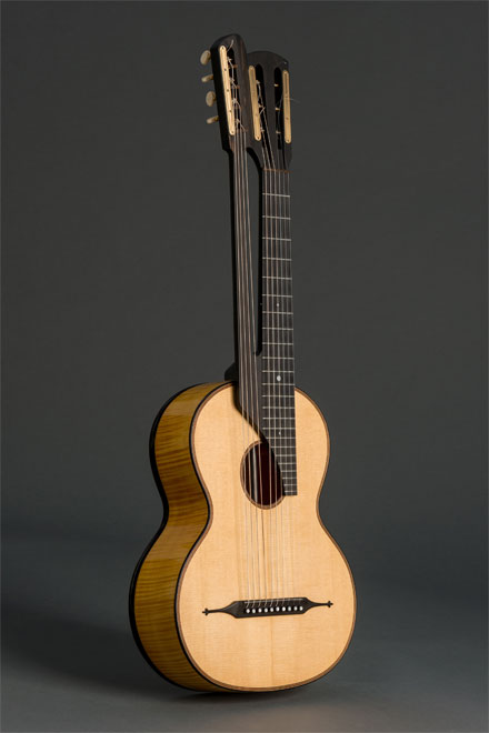 Scherzer 10 string guitar historical copy (1861)